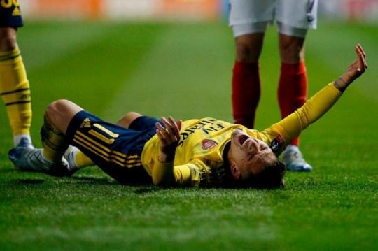 Lucas Torreira ให้การปรับปรุงการบาดเจ็บ