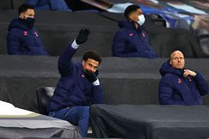 Jose Mourinho หัวหน้าทีมท็อตแนม ปกป้อง Dele Alli และ Harry Winks