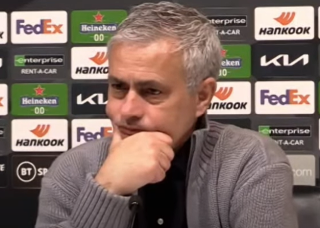 Jose Mourinho ตั้งเป้าที่ตำแหน่งในลีก