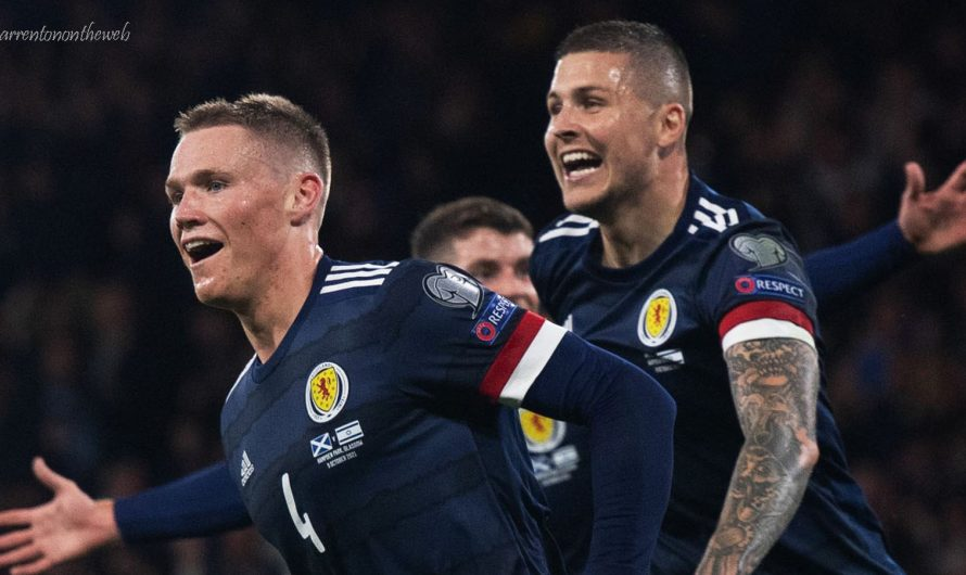 ลินดอน ไดค์ส ช่วยชีวิตสกอตแลนด์ด้วยชัยชนะ